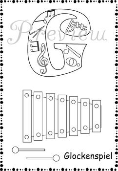 Music Alphabet Coloring pages  Coloring Coloring pages and