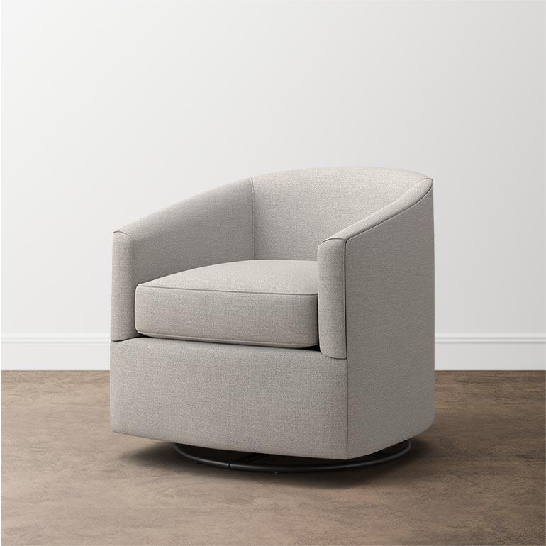 Maxwell Swivel Glider | Swivel glider, Swivel glider chair ...