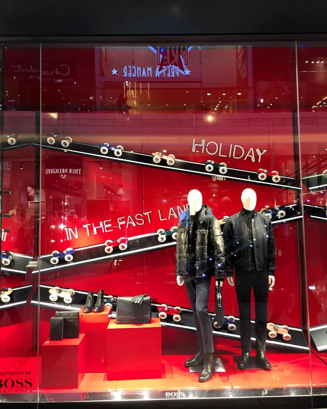 "HUGO BOSS, Westfield London, UK, ""Holidays in the Fast Lane"