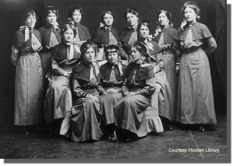 Nursing in the Great War