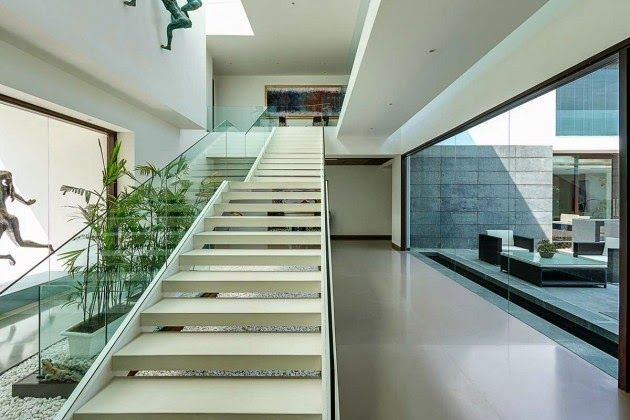 Casas Minimalistas y Modernas Escalera Minimalista Decoracion SH