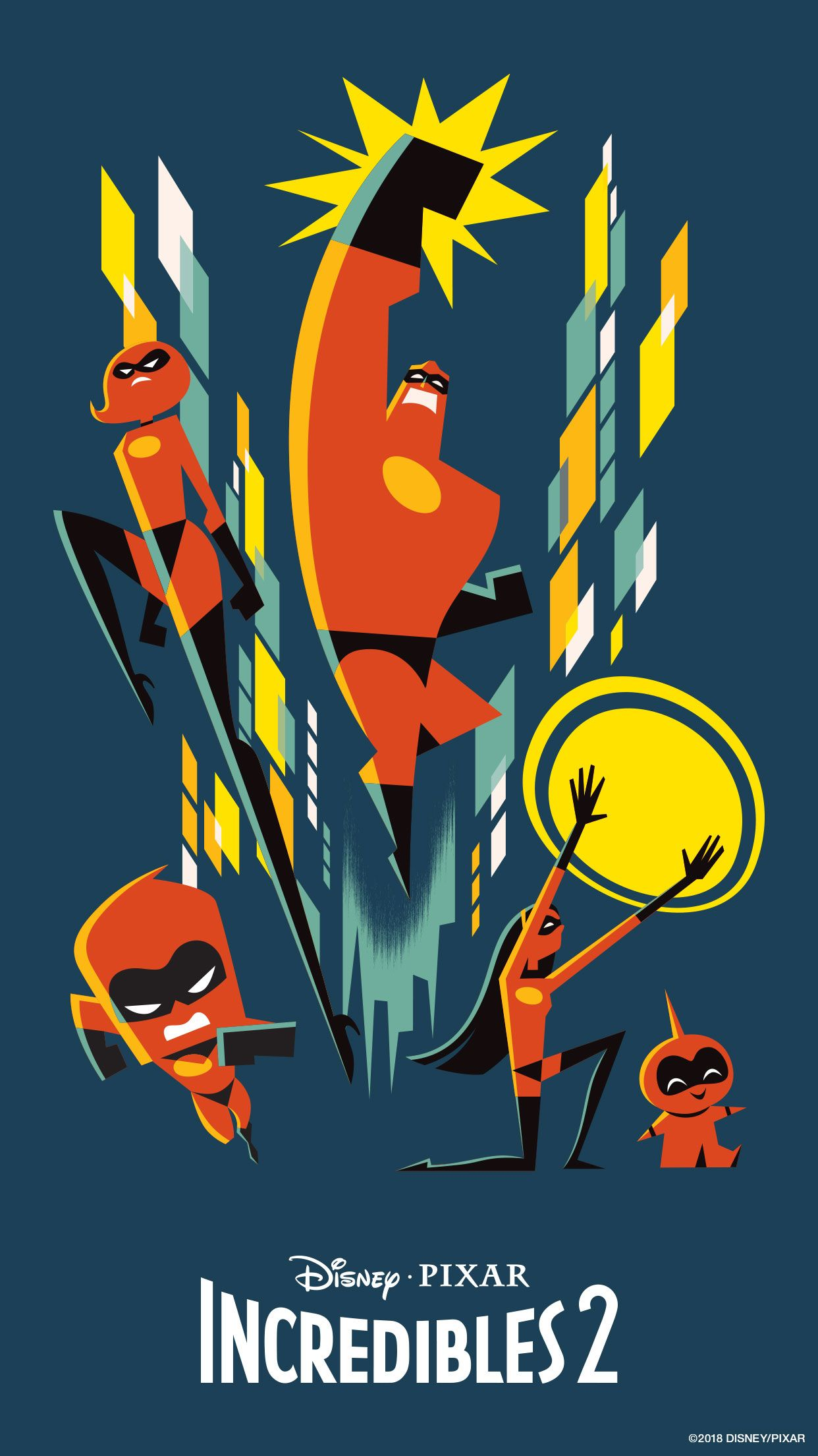 feel incredible with these disney•pixar the incredibles 2 mobile