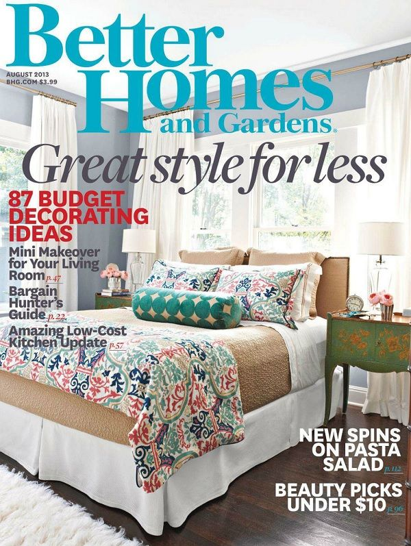 Better Homes And Gardens Magazine Subscription Buy At Newsstand