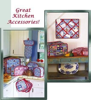 KITCHEN APPLIANCE COVERS Sewing Pattern Includes Tea Cozy, Casserole Cover  U0026 More ~ LAST ONE