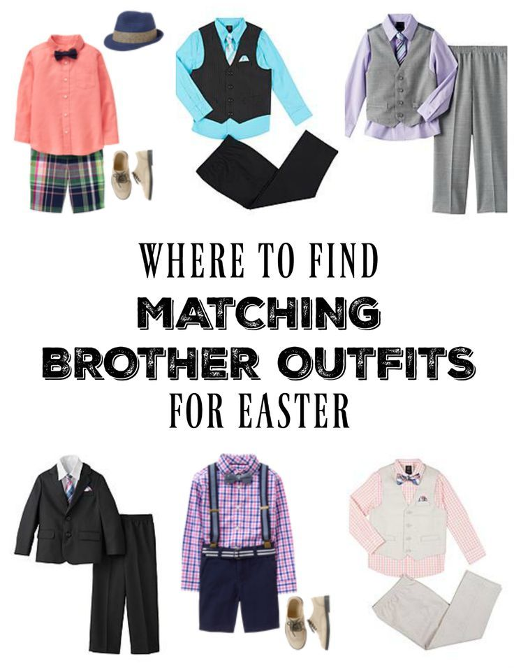 Where To Find Matching Brother Outfits For Easter Seeing Dandy Kids Easter Outfits Kids Outfits Kids Fashion