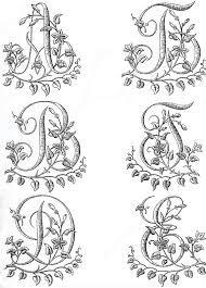 Картинки по запросу буквы красивые трафарет   Вышивка ...