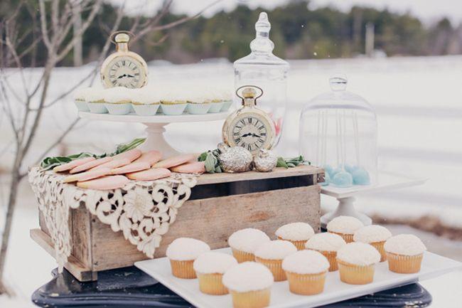 It's a winter dessert bar... love! :)