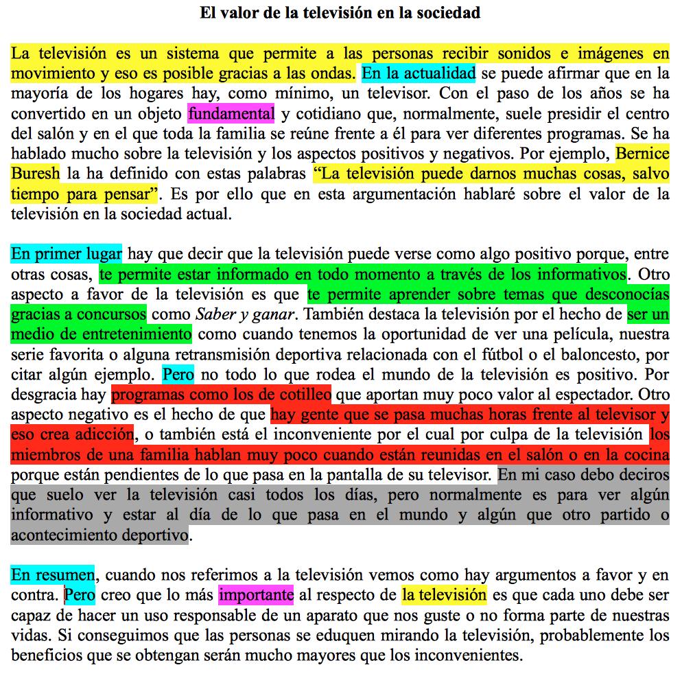 Texto Argumentativo Plantilla Y Ejemplo Texto Argumentativo Comentario De Texto Como Redactar Un Texto