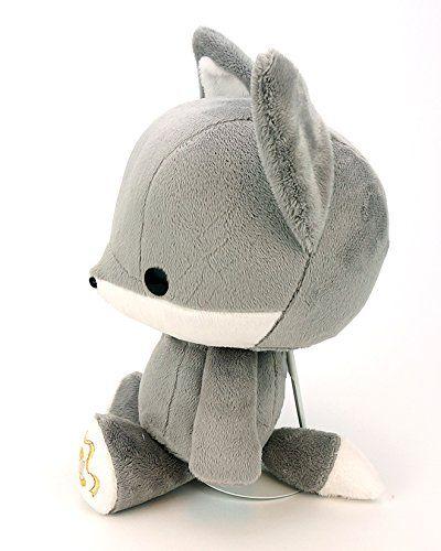 Amazon Com Bellzi Gray Fox Stuffed Animal Plush Toy Adorable