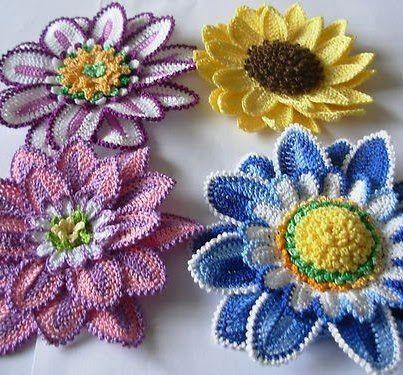 So Croche Paula Santos Picasa Web Albums Flores En Crochet - Flores-ganchillo