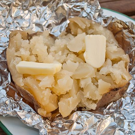 Crock Pot Baked Potatoes. Perfect for summer when you don't want to use your oven! Wash potatoes, wrap them in foil, and cook on low for 8 hours