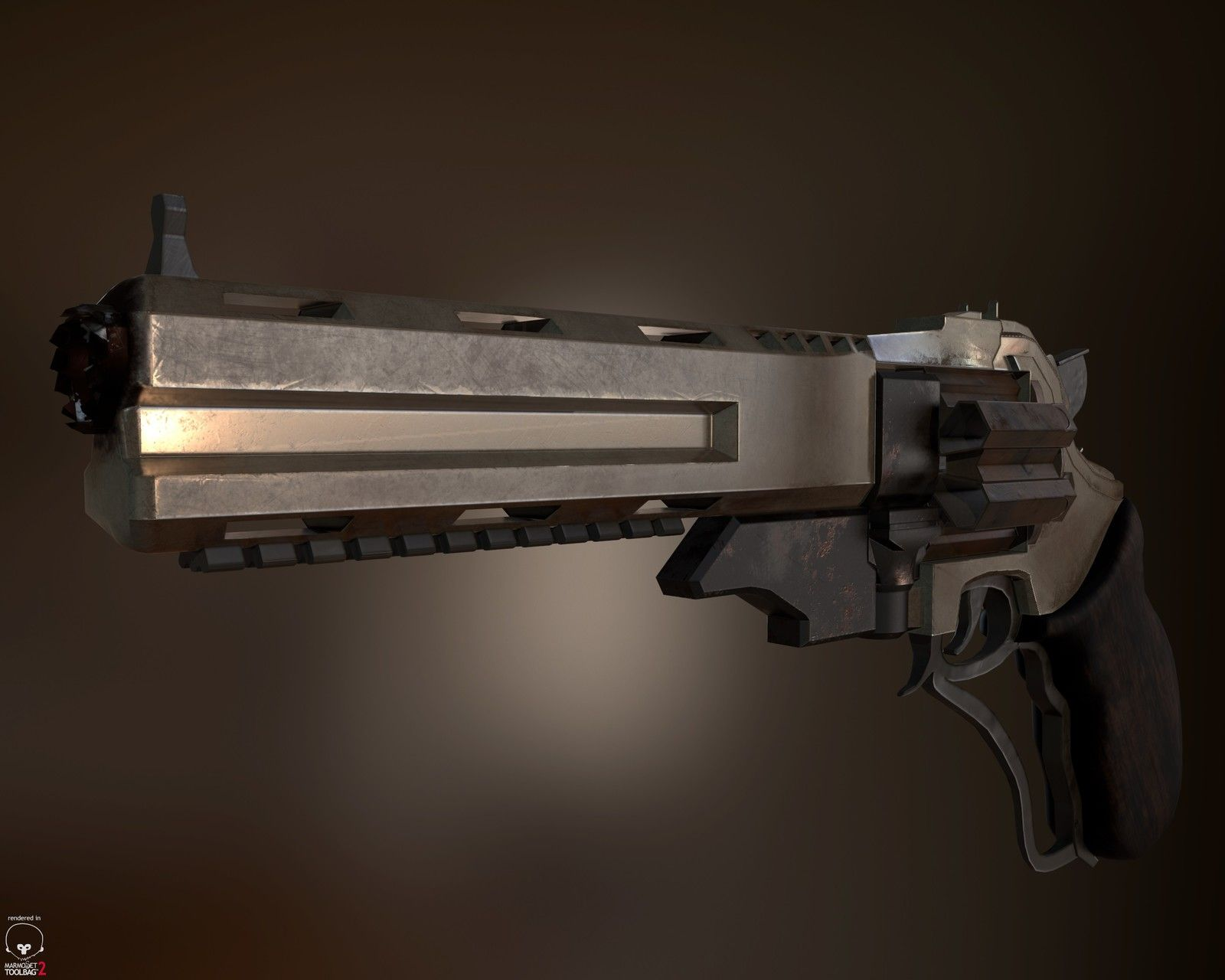 Mad Max Revolver Concept, Stefan Oprisan on ArtStation at https://www.artstation.com/artwork/ePQW6