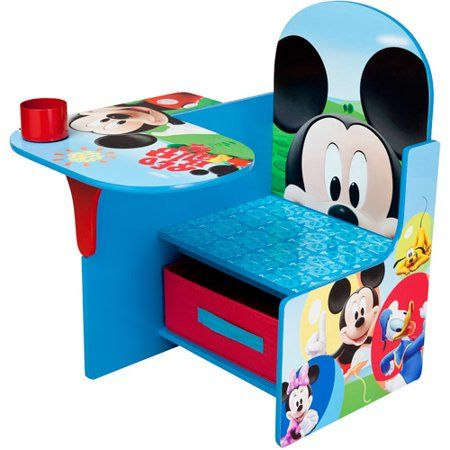 Remarkable Disney Mickey Mouse Chair Desk With Storage Bin By Delta Pabps2019 Chair Design Images Pabps2019Com