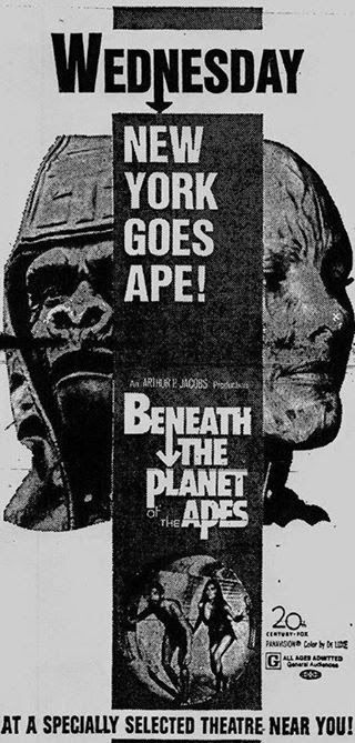 Beneath The Planet Of The Apes 1970 International Movie Posters With Images Planet Of The Apes Apes Planets