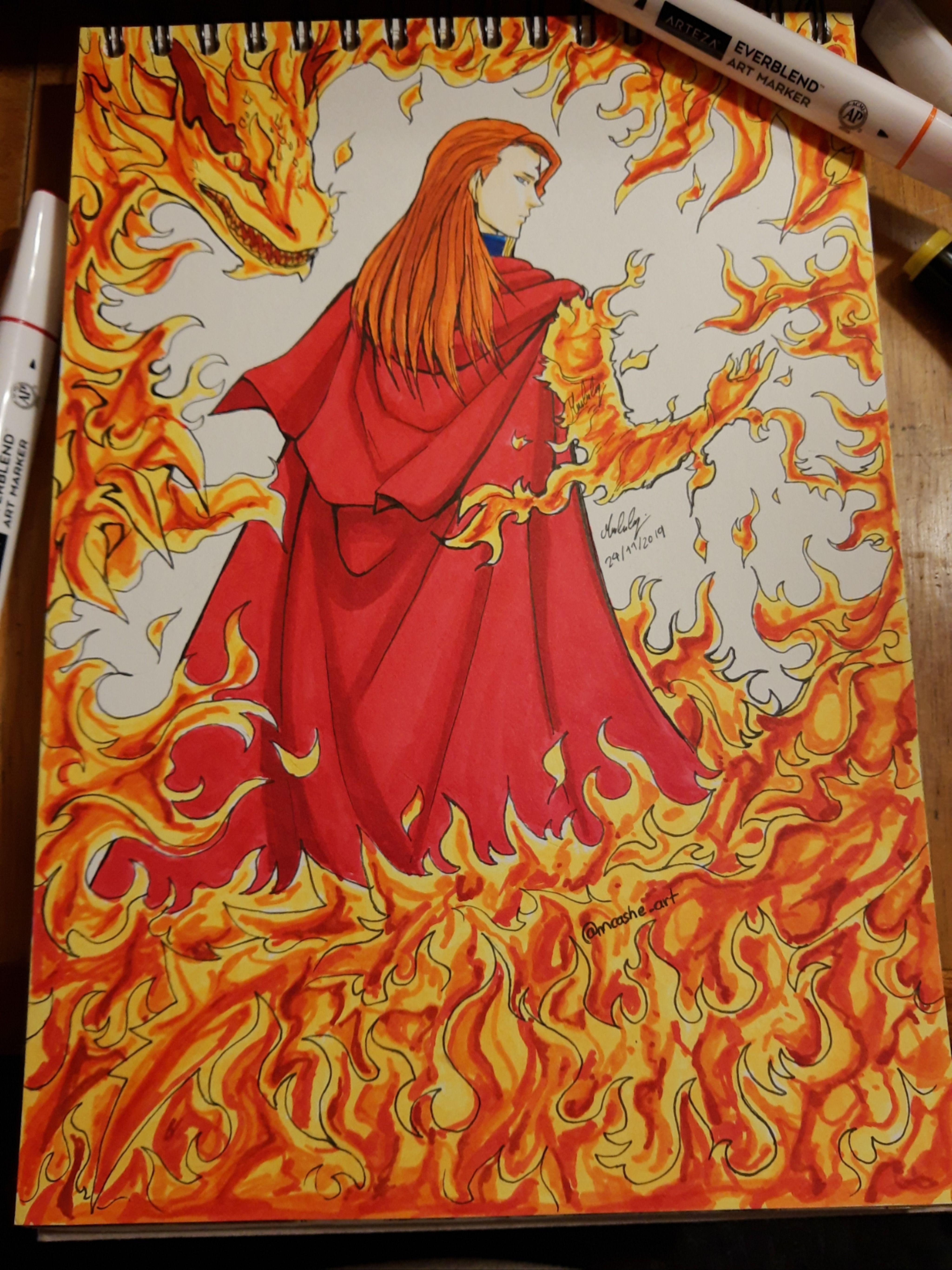 #fuegoleonvermillion #fuegoleon #fuegoleonvermilion #blackclover #   Displate thumbnail
