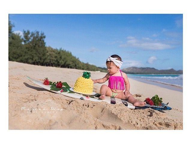 a party without cake is just a meeting…. happiest birthday!  Kimi & Li Bikini - fringe kini in pineapple print.  kids swimwear   baby bikinis   swimsuit   bathers   fashion   girls togs