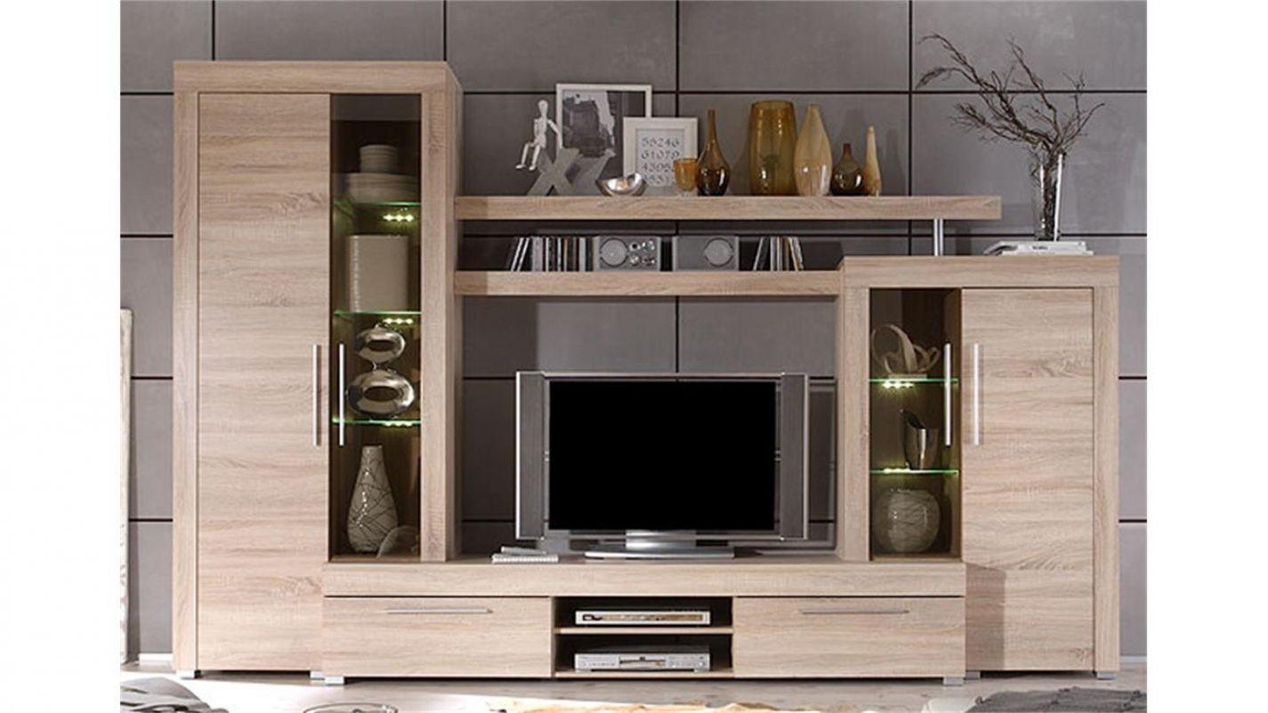 Lovely Wohnzimmermobel Sonoma Eiche Wohnen Wohnwand Modern