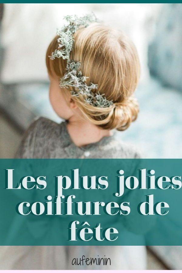 Cérémonie des idées de coiffures pour petite fille