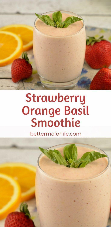 Photo of Les fraises douces s'harmonisent bien avec les agrumes orange et avec une touche de basilic …