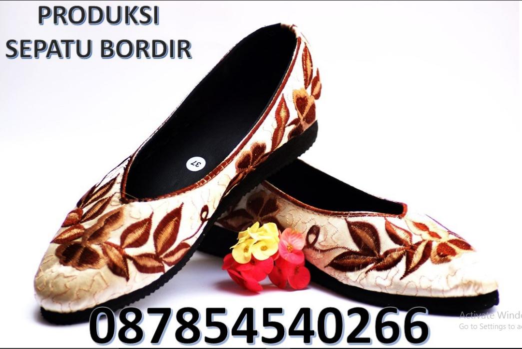 Sepatu Sulam Pita Sepatu Sulam Malang Sepatu Sulam Handmade