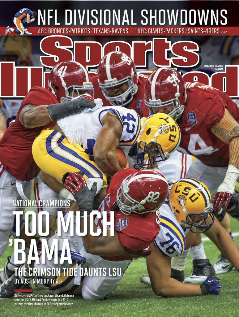 Alabama featured on the Sports Illustrated Cover