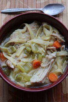 Crock Pot Chicken Noodle Soup!