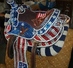 Image result for sparkly horse tack