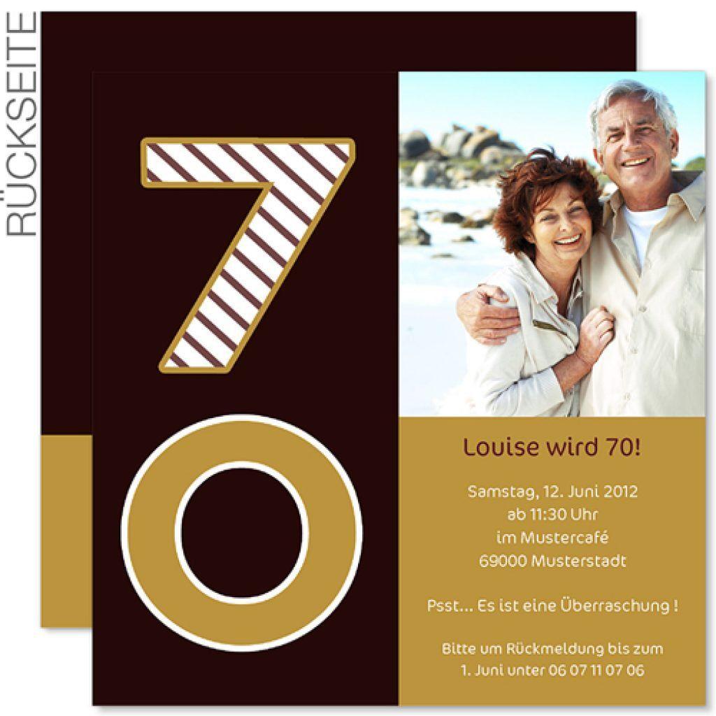 Toll Einladungskarten Zum 70 Geburtstag Zum Ausdrucken | Einladungskarten  Geburtstag | Pinterest