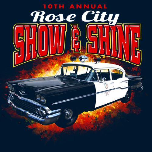 Rose City Show And Shine KEN YOUNG CO Rose City Thomasville - Car show t shirt design ideas
