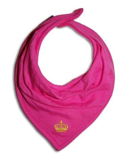 Elodie Details Pink Crown Cloth Dry Bib | Mummys Online
