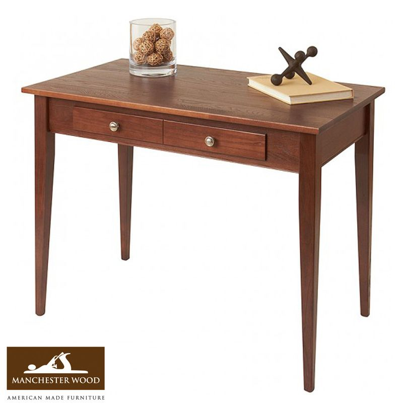 shaker desk from manchester wood made in usa made in usa