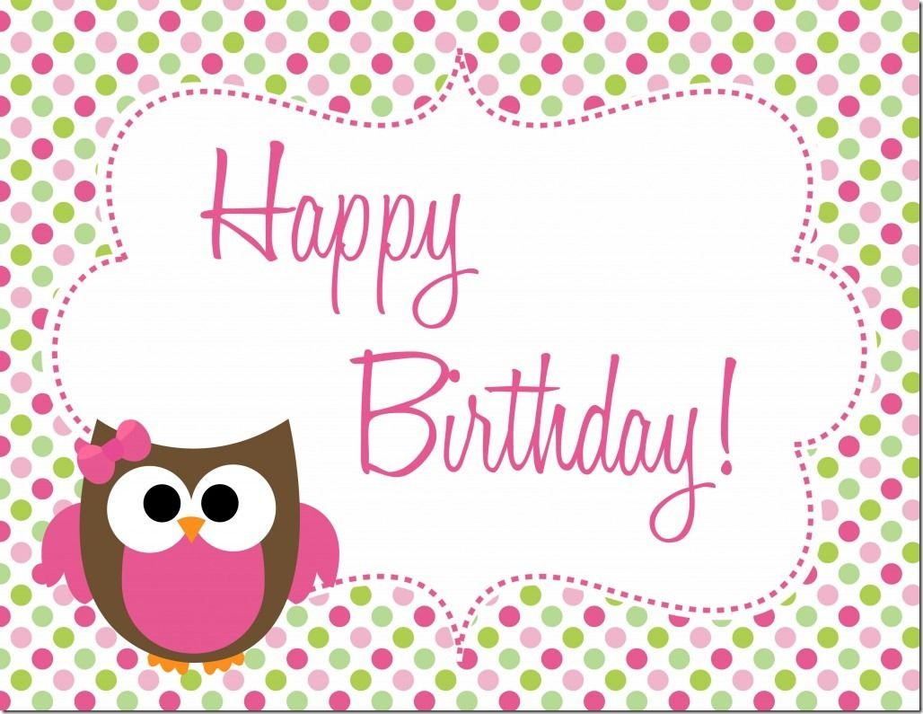 Owl Birthday Party - Free Printables | Owl birthday parties, Free ...