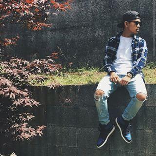 jordan 1 blue outfit
