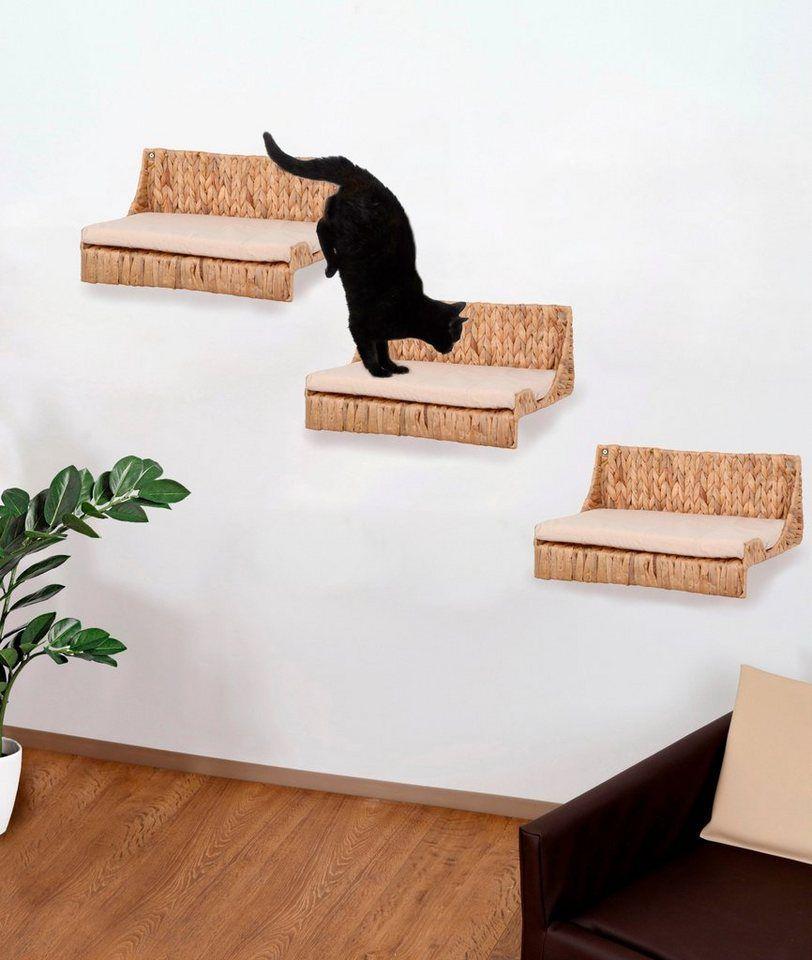 Silvio Design Katzen Kletterwand Fenja 3 Tlg Bxlxh 25x40x15 Cm Online Kaufen Katzen Kletterwand Kletterwand