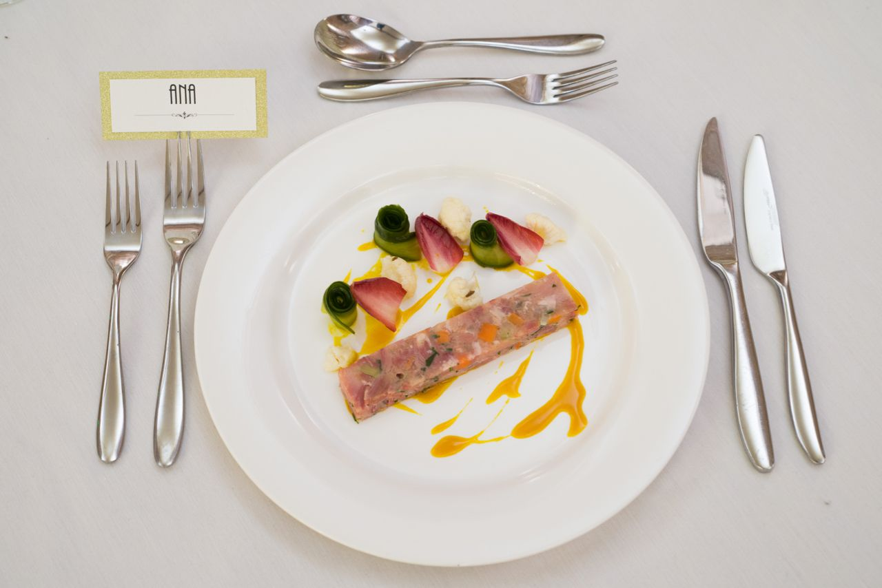 Ham Hock Terrine Provided By Unique Norfolk Venues