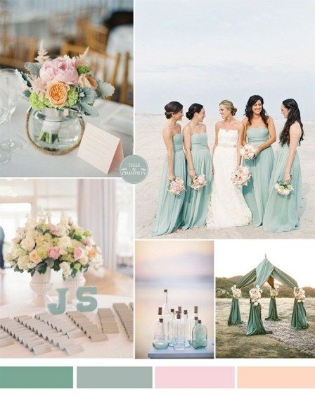 Vibrant Wild Flower Cool Summer Beach Wedding Ideas