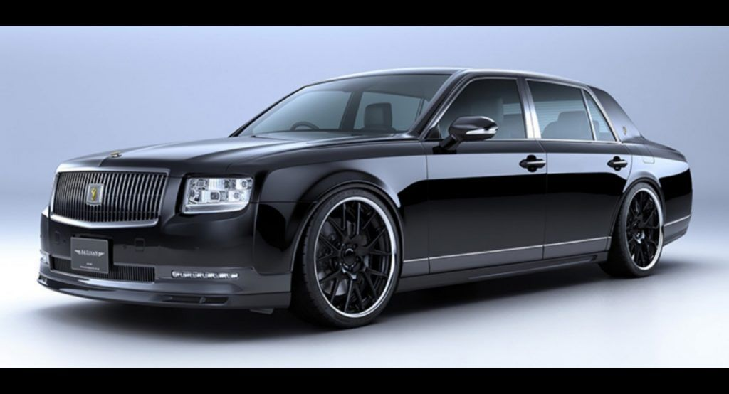 Should Tuners Mess With The Toyota Century Artisan Spirits Makes A Convincing Case For It Carscoops In 2020 Toyota Century Toyota Century