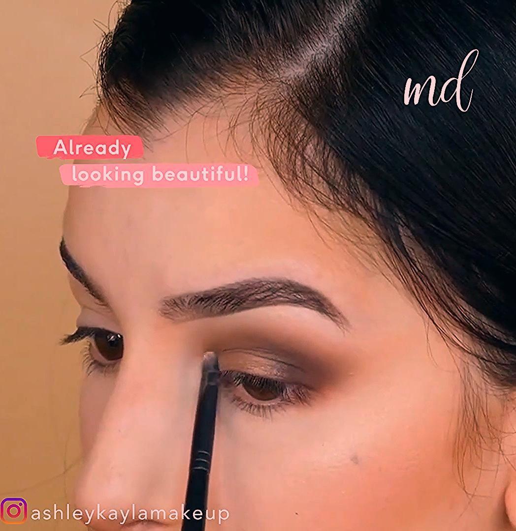 Photo of EYE SHADOW FOR BEGINNERS MAKEUP TUTORIAL #beginnersmakeup #makeuptips
