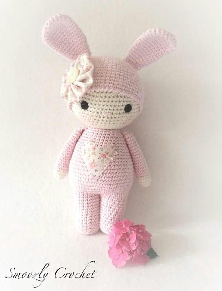 Another of Mina\'s creations | amigurumi rabbit | Pinterest ...