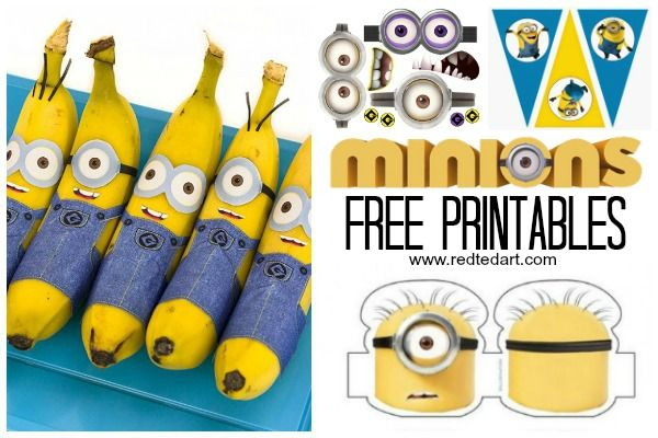 37 Minion Paper Crafts Despicable Me Printables Kids Ideas