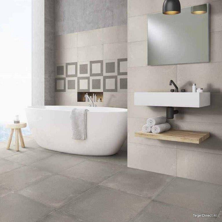 Vloertegels 60x60 in prachtige kleur Greige, een warme kleur grijs ...