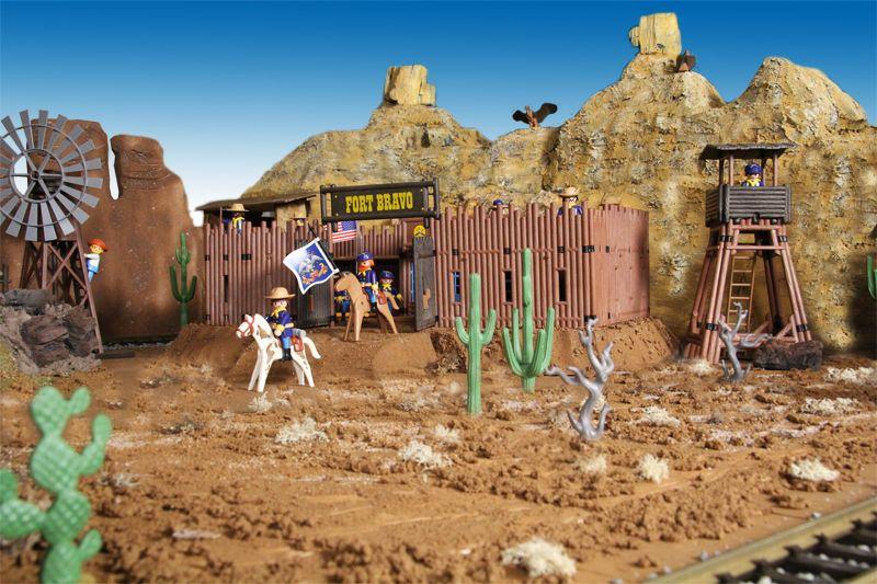 skywalkers wild west diorama 2012 playmobil western. Black Bedroom Furniture Sets. Home Design Ideas