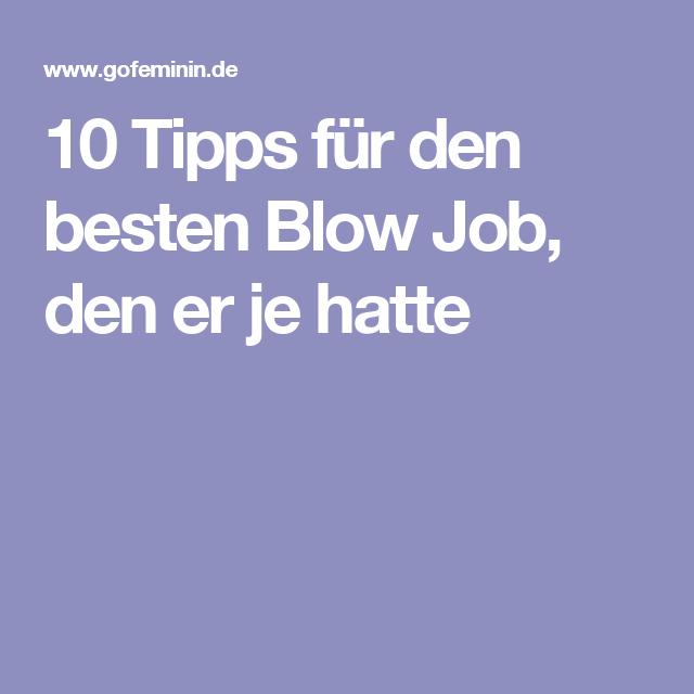10 Tipps für den besten Blow Job, den er je hatte