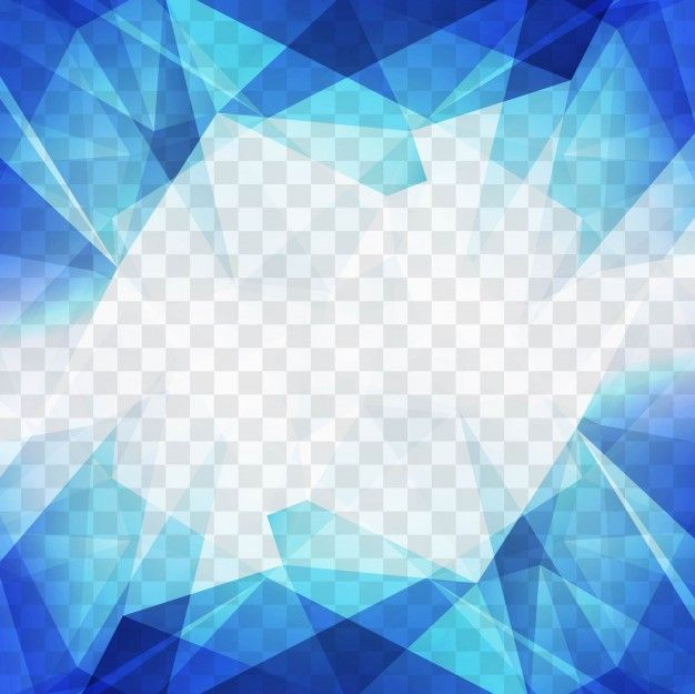 Download Blue Polygonal Shapes For A Geometric Background For Free