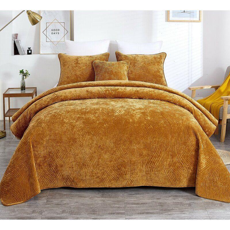 Jeb Bedspread Set Bed Spreads Gold Bed Bedding Sets Master Bedroom
