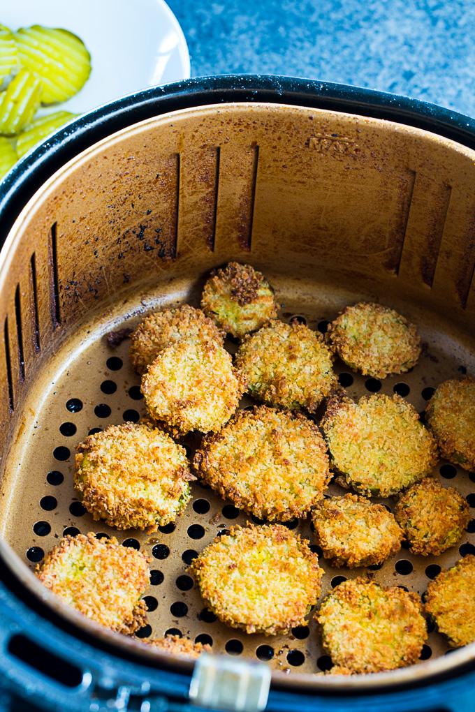 Air Fryer Fried Pickles Recipe Air fryer recipes