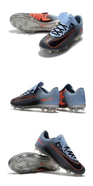 newest b5c91 bb6d6 Nike Crampon de Foot Mercurial Vapor 11 FG ACC Noir Orange Bleu