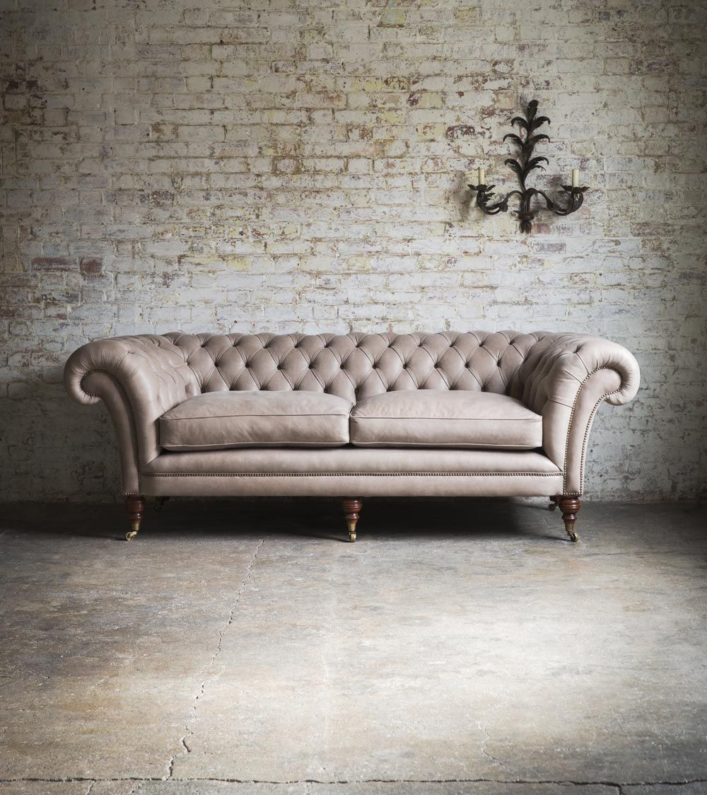 The Epitome Of A Comfortable Deep Sprung Chesterfield Sofa Grenville Is Beautiful Clic