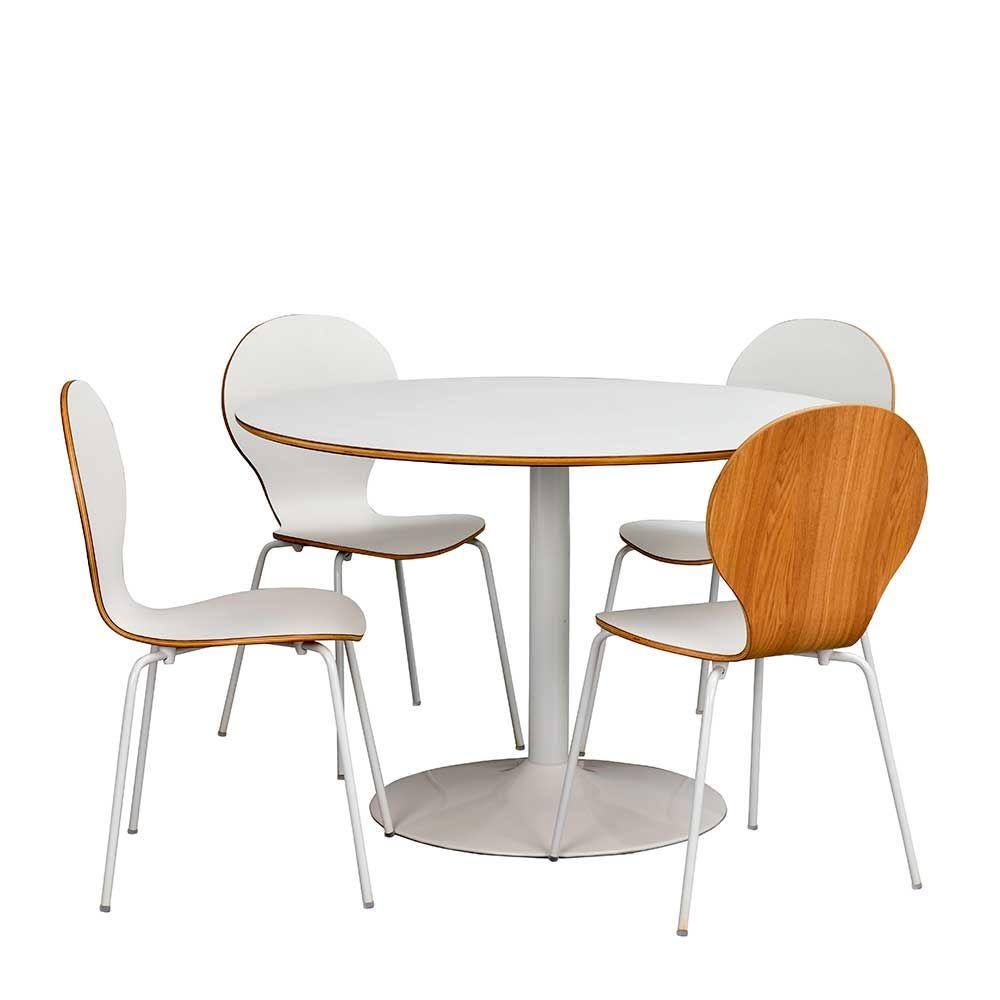 11+ Esstisch mit stuehlen rund ideen