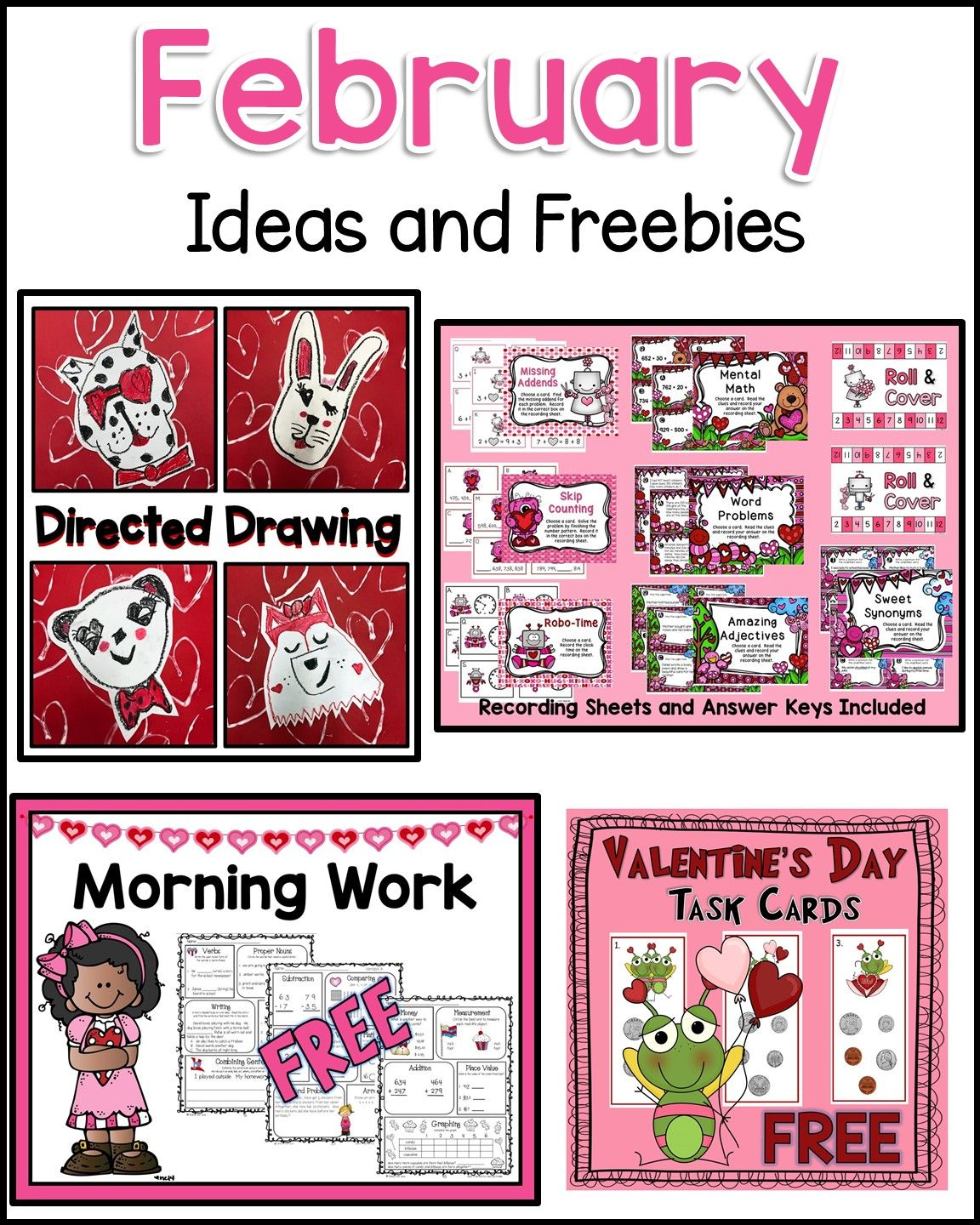 Valentine S Day Ideas And Freebies